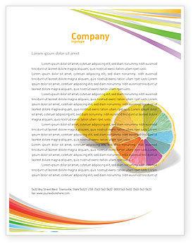 Business Concepts: Modelo de Papel Timbrado - diversidade de cores #03498
