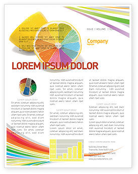 Color Diversity Newsletter Template, 03498, Business Concepts — PoweredTemplate.com