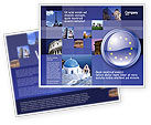 Flags/International: European Union Sign Brochure Template #03499