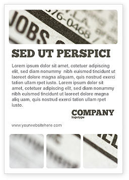 Careers/Industry: Recruiting Ad Template #03500