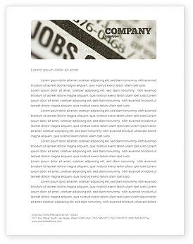 Resume Letterhead Templates In Microsoft Word Adobe Illustrator