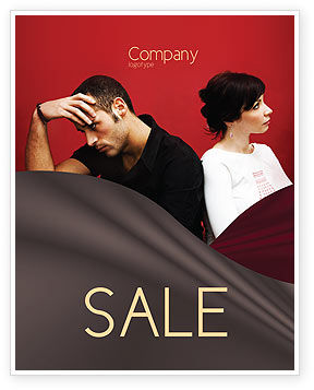 Quarrel Sale Poster Template, 03502, People — PoweredTemplate.com
