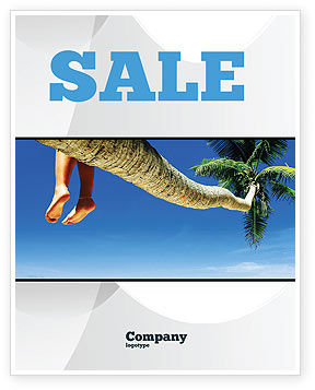 Relaxing Sale Poster Template, 03504, Holiday/Special Occasion — PoweredTemplate.com