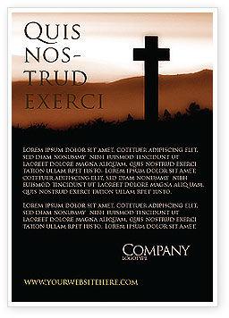 Memento Mori Ad Template, 03510, Religious/Spiritual — PoweredTemplate.com