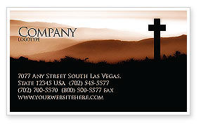 Religious/Spiritual: Memento Mori Business Card Template #03510