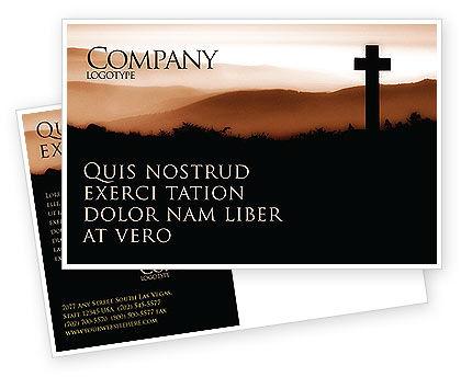 Religious/Spiritual: Modelo de cartão postal - memento mori #03510