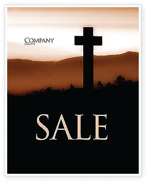 Memento Mori Sale Poster Template, 03510, Religious/Spiritual — PoweredTemplate.com