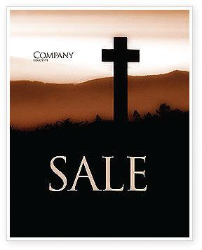 Religious/Spiritual: Memento Mori Sale Poster Template #03510