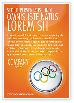 Sports: Olympic Symbol Ad Template #03512