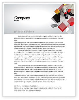 Business: Waiting Opportunity Letterhead Template #03515