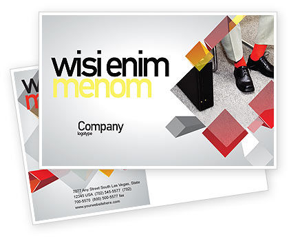 Business: Waiting Opportunity Postcard Template #03515
