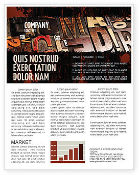Careers/Industry: Typefaces Newsletter Template #03520