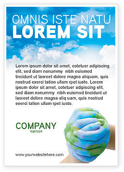 Global: Mother Earth Ad Template #03522
