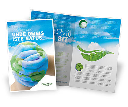 Global: Mother Earth Brochure Template #03522