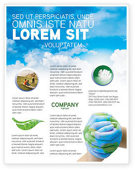 Global: Mother Earth Flyer Template #03522