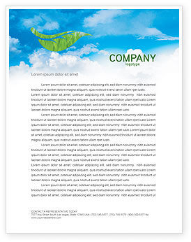 Global: Mother Earth Letterhead Template #03522