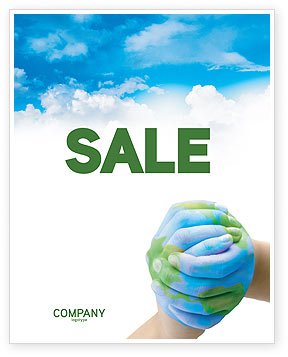 Mother Earth Sale Poster Template, 03522, Global — PoweredTemplate.com