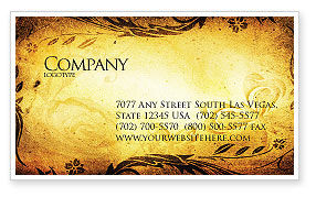 Abstract/Textures: Fairy Tale Business Card Template #03523