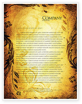 Fairy tale letterhead template layout for microsoft word for Fairy tale book cover template