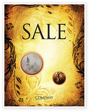 Fairy Tale Sale Poster Template, 03523, Abstract/Textures — PoweredTemplate.com