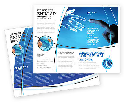 Technology, Science & Computers: People and Technology Brochure Template #03524