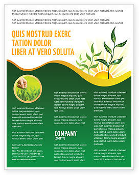 Nature & Environment: Growing Flyer Template #03531