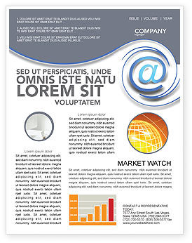 Modern Communication Via Email Newsletter Template for Microsoft ...