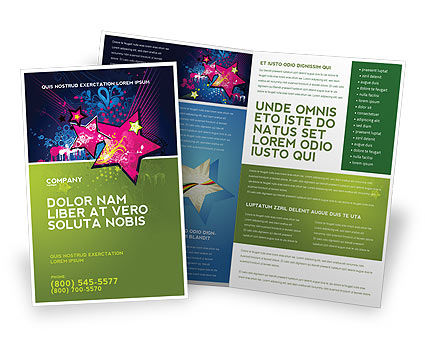 Holiday/Special Occasion: Graphic Design Brochure Template #03537