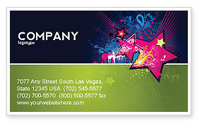 Holiday/Special Occasion: Graphic Design Business Card Template #03537