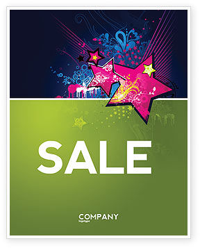 Graphic Design Sale Poster Template, 03537, Holiday/Special Occasion — PoweredTemplate.com