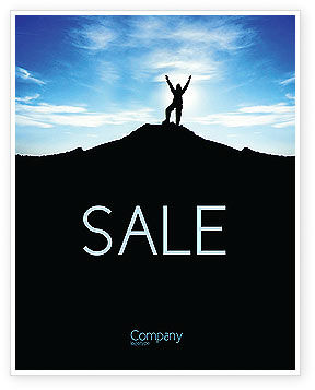 People: The Top Sale Poster Template #03546