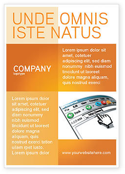 Technology, Science & Computers: Modèle de Publicité de navigateur #03548