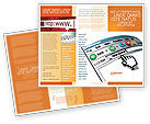 Technology, Science & Computers: Modello Brochure - Browser #03548
