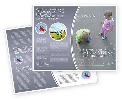 Education & Training: Street Drawings Brochure Template #03549