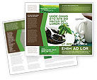 Food & Beverage: Groene Thee Ceremonie Brochure Template #03551