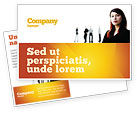 Careers/Industry: Networking Postcard Template #03552