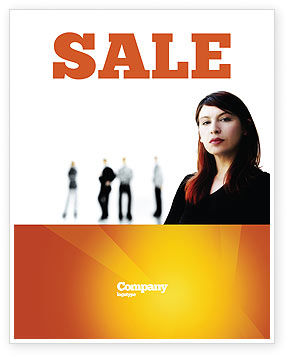 Networking Sale Poster Template, 03552, Careers/Industry — PoweredTemplate.com