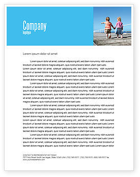 Education & Training: Pier Letterhead Template #03559