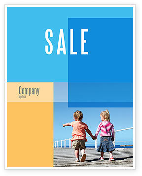 Pier Sale Poster Template, 03559, Education & Training — PoweredTemplate.com