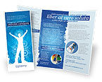 Business Concepts: Plantilla de folleto - creatividad en azul #03561