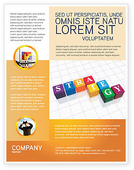 Business Concepts: Templat Flyer Strategi #03563