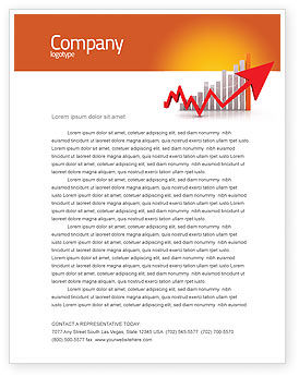 Business Concepts: Raising Rates Letterhead Template #03571