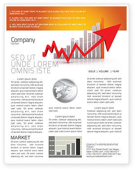 Business Concepts: Raising Rates Newsletter Template #03571