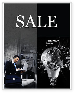 Insight Sale Poster Template, 03572, Business Concepts — PoweredTemplate.com