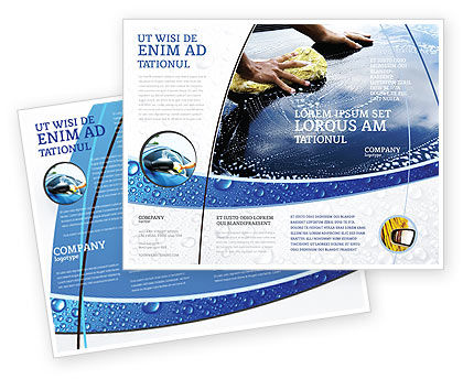 Car wash brochure template design and layout download now for Car brochure template