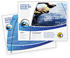 Careers/Industry: Car Wash Brochure Template #03576