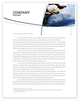 Car Wash Letterhead Template, 03576, Careers/Industry — PoweredTemplate.com