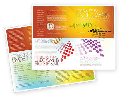 Cycle Brochure Template, 03577, Abstract/Textures — PoweredTemplate.com
