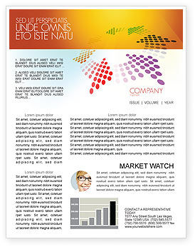 Abstract/Textures: Cycle Newsletter Template #03577