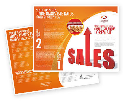 Business: Sales Brochure Template #03579